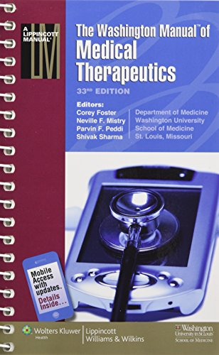 The Washington Manual® of Medical Therapeutics (Lippincott Manual Series (Formerly known as the Spiral Manual Series))