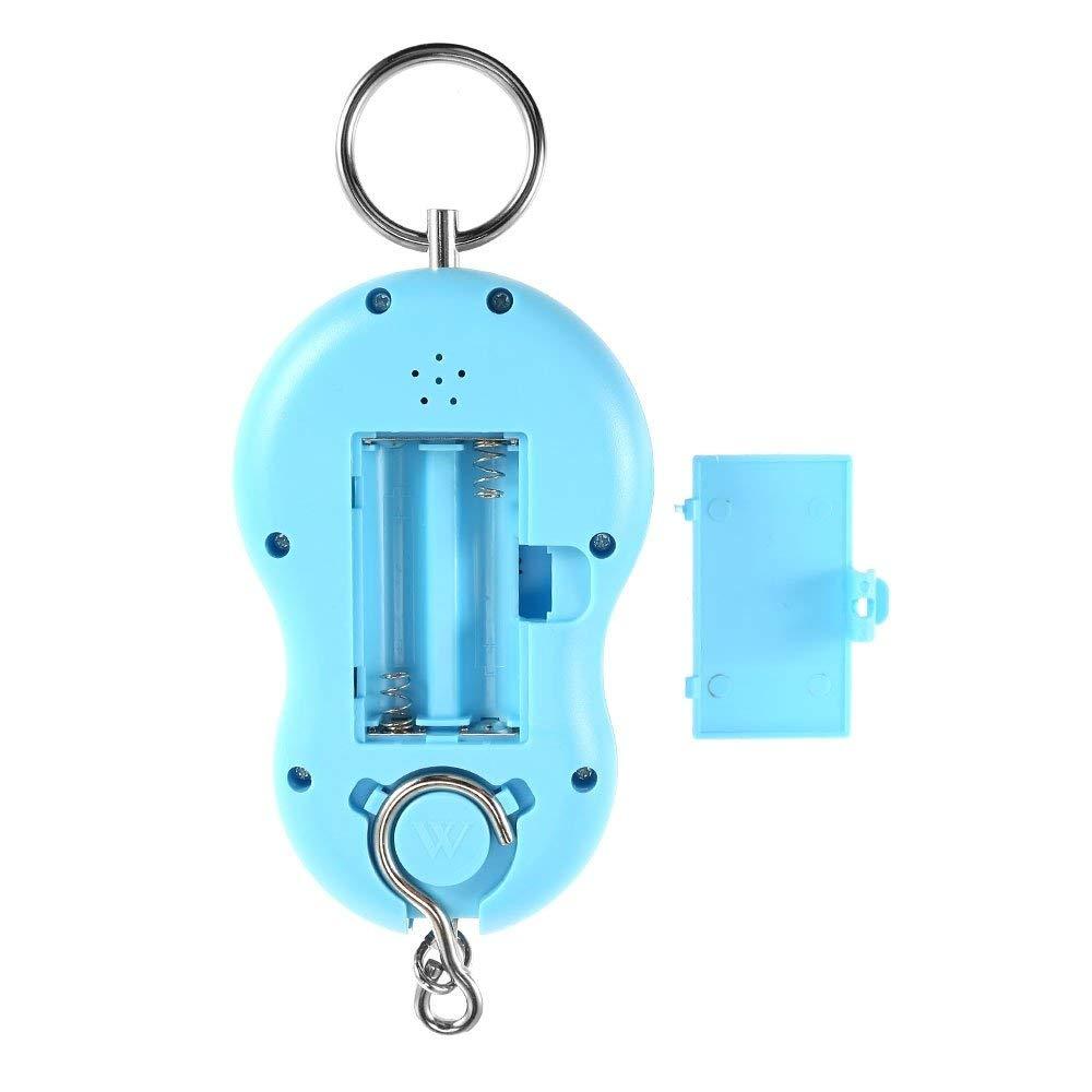 110 libras//50 kg BOLLAER B/áscula electr/ónica de Gancho para Pesar Pantalla LCD retroiluminada port/átil balanza electr/ónica Digital para Colgar anzuelos