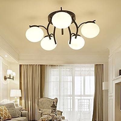 Lights & Lighting Led Ceiling Lamps Bedroom Lamp Simple Modern Atmosphere Household Living Room Lights Creative Branch Restaurant Lighting