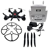 Tiean X181 5.8G FPV 2MP Camera Drone RC Quadcopter Headless Helicopter (Black)