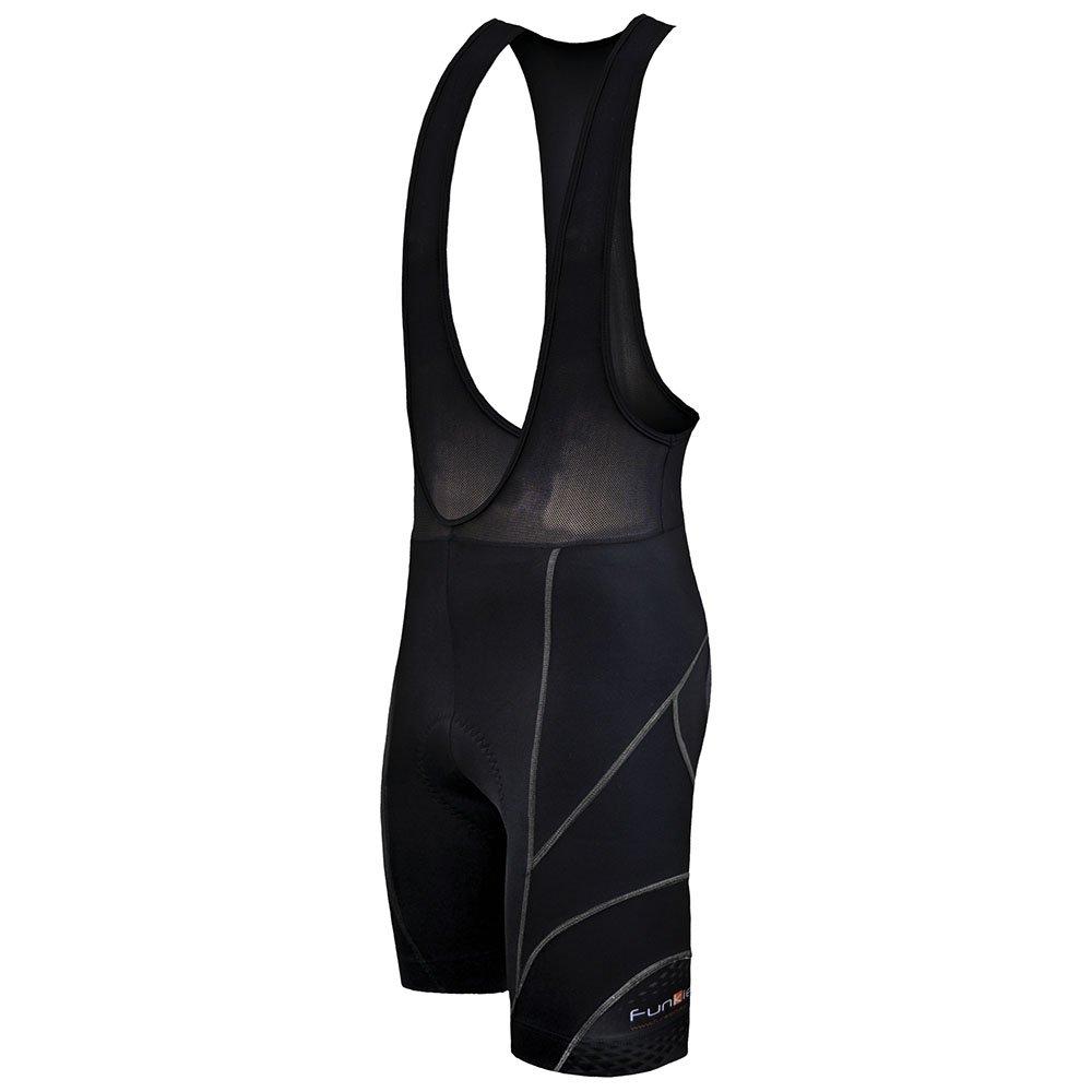 Funkier Men's Men's 17 Panel Aktive Trägerhose, gepolstert, für Fahrradfahren