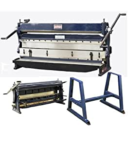 """BOLTON TOOLS 52"""" Combination 3 in 1 Sheet Metal Machine - COMBINATION 3-in-1 SHEAR, BRAKE AND ROLL. Comes With A 1 Year Warranty!!"""