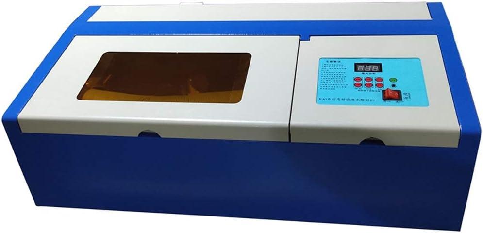 Hörsein Pequeña máquina de Corte por láser Plotter de Grabado láser, máquina de Corte de Grabado Multi-Funcional con una máquina de Corte multifunción Puerto USB: Amazon.es: Hogar