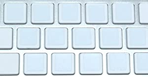 Blank Keyboard Stickers Non Transparent White Background