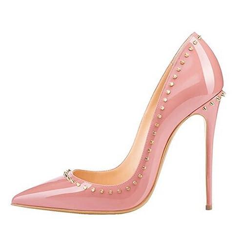 Mujer Talla Color Cuckoo De 43 Eu Rosa Vestir Para Zapatos wRR1OIqf