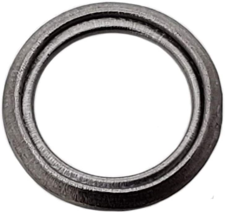 25 Pack Buy Auto Supply # BAS03560 I.D: 11.9mm // O.D: 17mm M12 Metal Crush Washer Oil Drain Plug Gasket Aftermarket part Fits in Place of Toyota 35178-30010 /& More