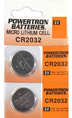 Chrysler Dodge Viper (USARemote Battery CR2032 3V for Car Remote Key Fob Keyless Entry Watch (Pack of 2))
