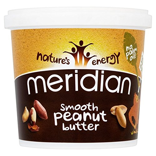 (2 Pack) - Meridian - Smooth Peanut Butter No Salt MER-31569050 | 1000g | 2 P...
