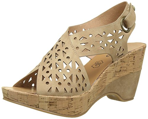 Les P'tites Bombes Estelle - Zapatos Mujer Beige (Beige)