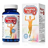 High Absorption Magnesium and Vitamins B6,D,E Complex. Stop Leg Cramps, Sore Muscles, Restless Leg Syndrome Relieve (60 Capsules)