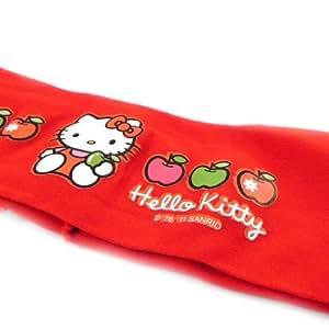 Cinta para el pelo 'Hello Kitty' rojo.