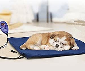 flymei heating pads for pets with chew resistant cord soft removable cover. Black Bedroom Furniture Sets. Home Design Ideas