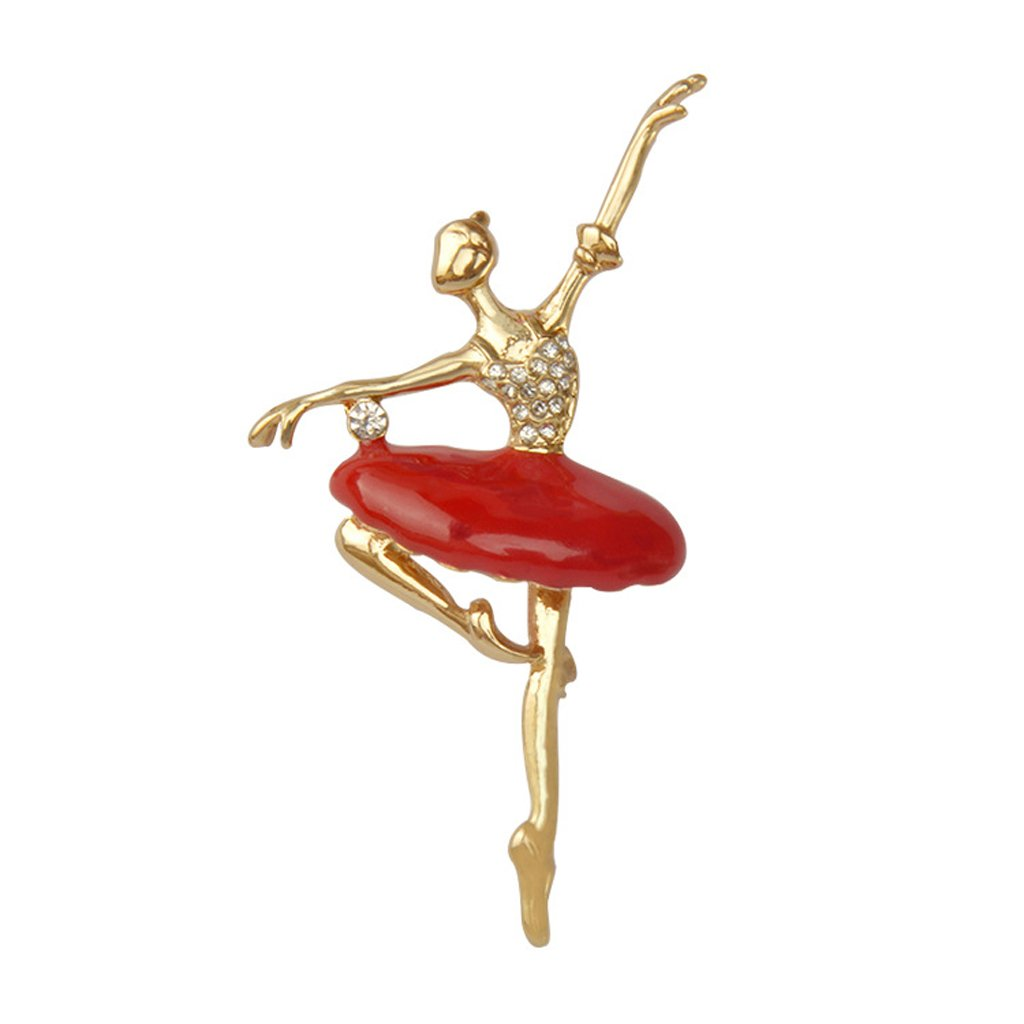 Broche Pin de Aleación Chica de Ballet Joyería Regalo para ...