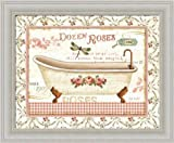 Pictures of Bathtubs Rose Garden IV by Lisa Audit Vintage Bathtub 12x10 Framed Art Print Picture Wall Dcor