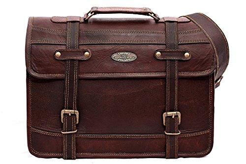 Handmade World Leather Messenger Bags for Men Women 15