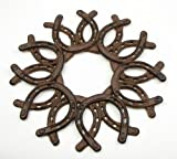 IWGAC 0184S-0072 Cast Iron Horseshoe Wreath Review