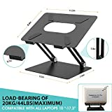 Laptop Stand, Ergonomic Adjustable Notebook