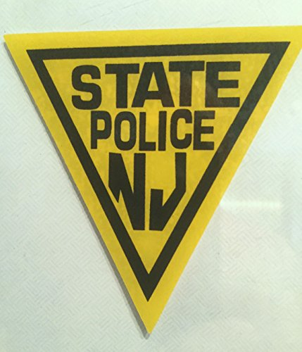 State Police Decals (NJ - N.J. State Police (InWindshield) Decal)
