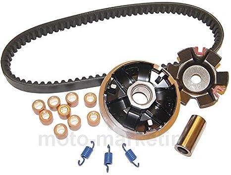 Ajuste Variador + Kit de Correa de transmisión de la escobilla para Lexmoto Gladiator 125: Amazon.es: Coche y moto