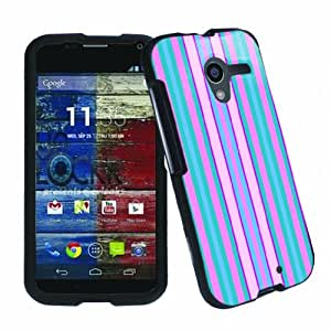 [ArmorXtreme] Motorola MOTO X XT1058 Total Protection Image Cover Case [Strip Pink]