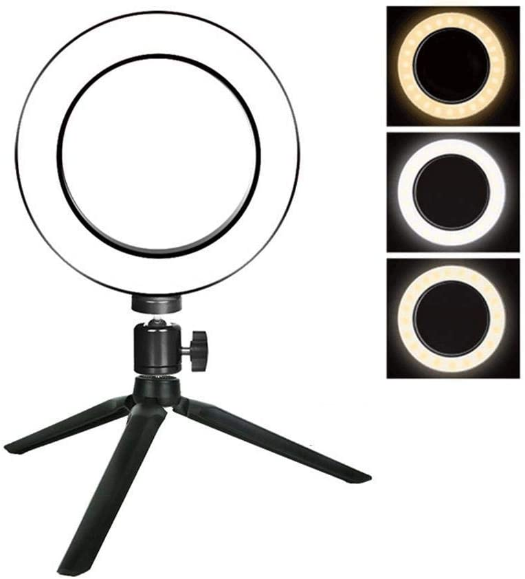 sasaply Ring Fill Ring Light Mobile Phone Live Photography Self-Timer LED Lamp Macro /& Ringlight Flashes