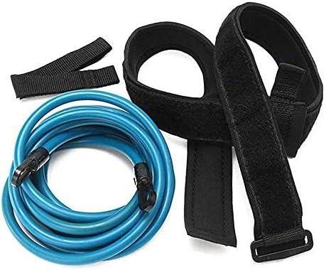 Doublez Schwim Trainingsseil Einstellbare Schwimmwiderstand Gürtel Schwimmgürtel Hüftschwimmgurt Für Erwachsene Kinder