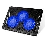 """#LightningDeal 90% claimed: Havit HV-F2056 15.6""""-17"""" Laptop Cooler Cooling Pad - Slim Portable USB Powered (3 Fans)"""