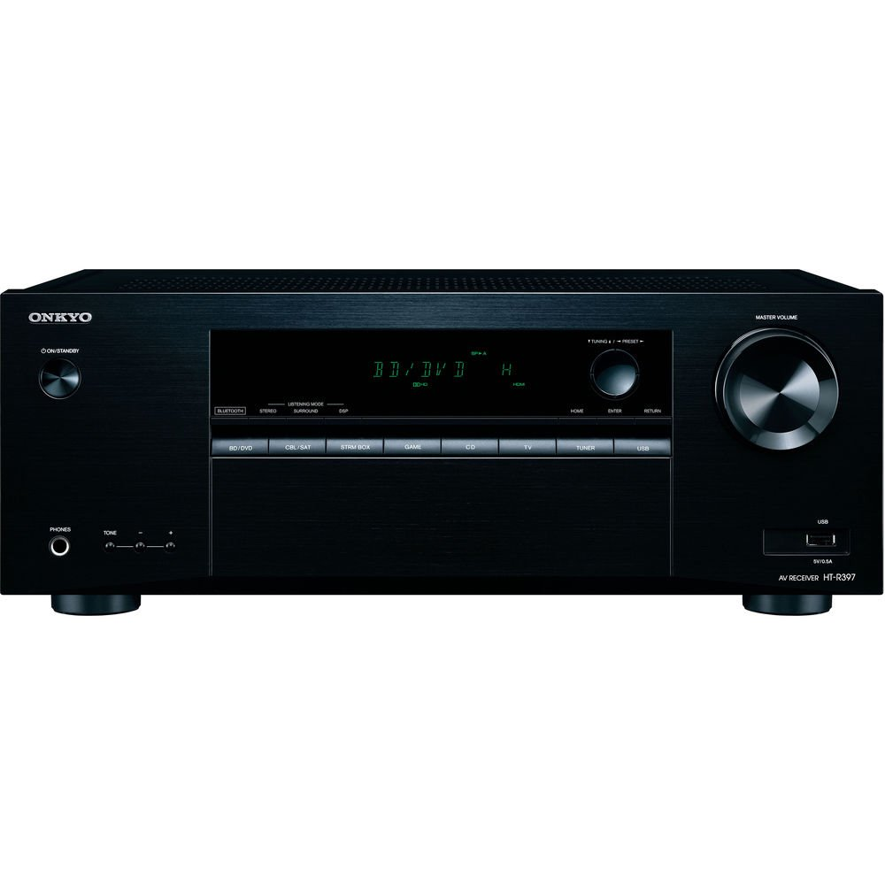 Onkyo HT-S3900 5.1-Channel Home Theater Receiver//Speaker Package Renewed