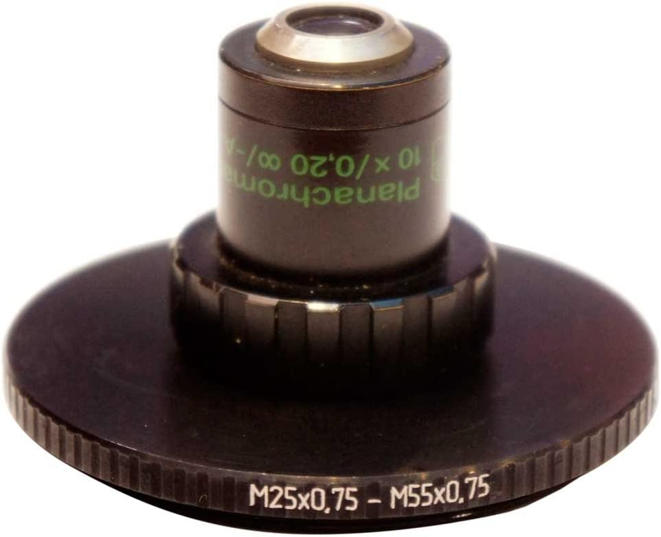 M55x0.75 Male to M25x0.75 Female Thread Adapter 55mm to 25mm Step-Down Ring