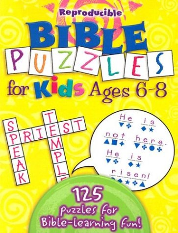 Bible Puzzles For Kids: Reproducible PDF