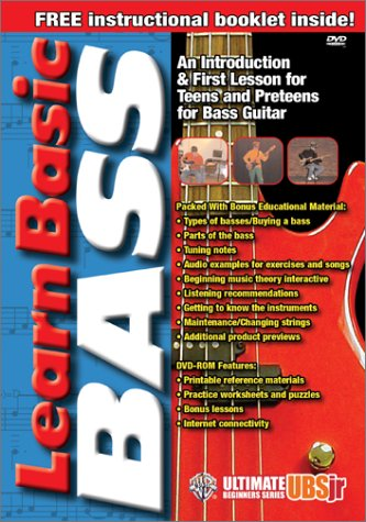 Amazon.com: UBSJr. Learn Basic Bass (DVD): Alfred Music: Movies & TV