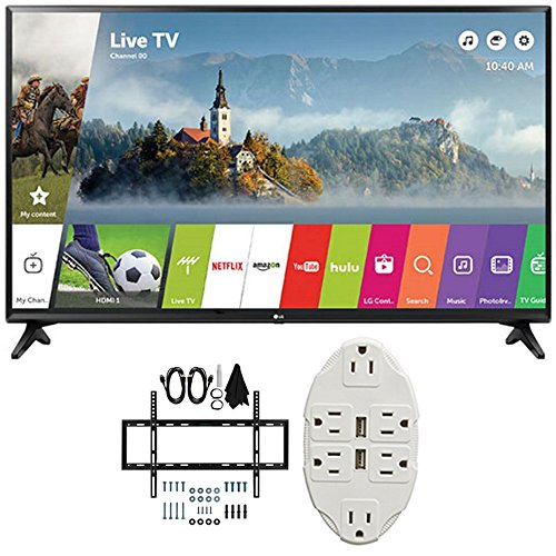 "LG 43"" Class Full HD 1080p Smart LED TV 2017 Model  with"