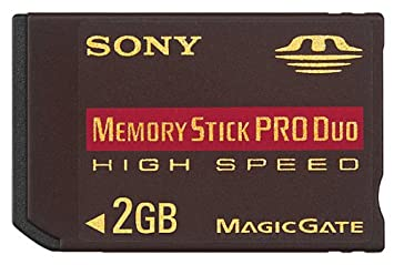 Image Unavailable Not Available For Colour Sony 2 GB High Speed Memory