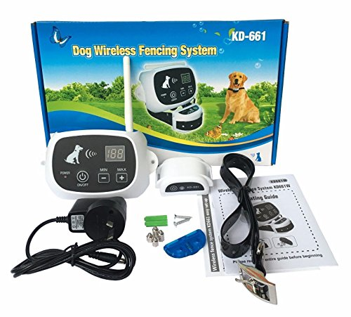 Wireless 1//2//3 Dog Fence No-Wire Pet Containment System Rechargeable /&Waterproof