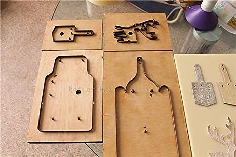 8360 mano presión muestreo tóner cuchillo molde de piel Manual Máquina de estampación molde Die Cutting Machine: Amazon.es: Juguetes y juegos