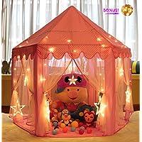 Monobeach Princess Tent Girls Large Playhouse Kids Castle...
