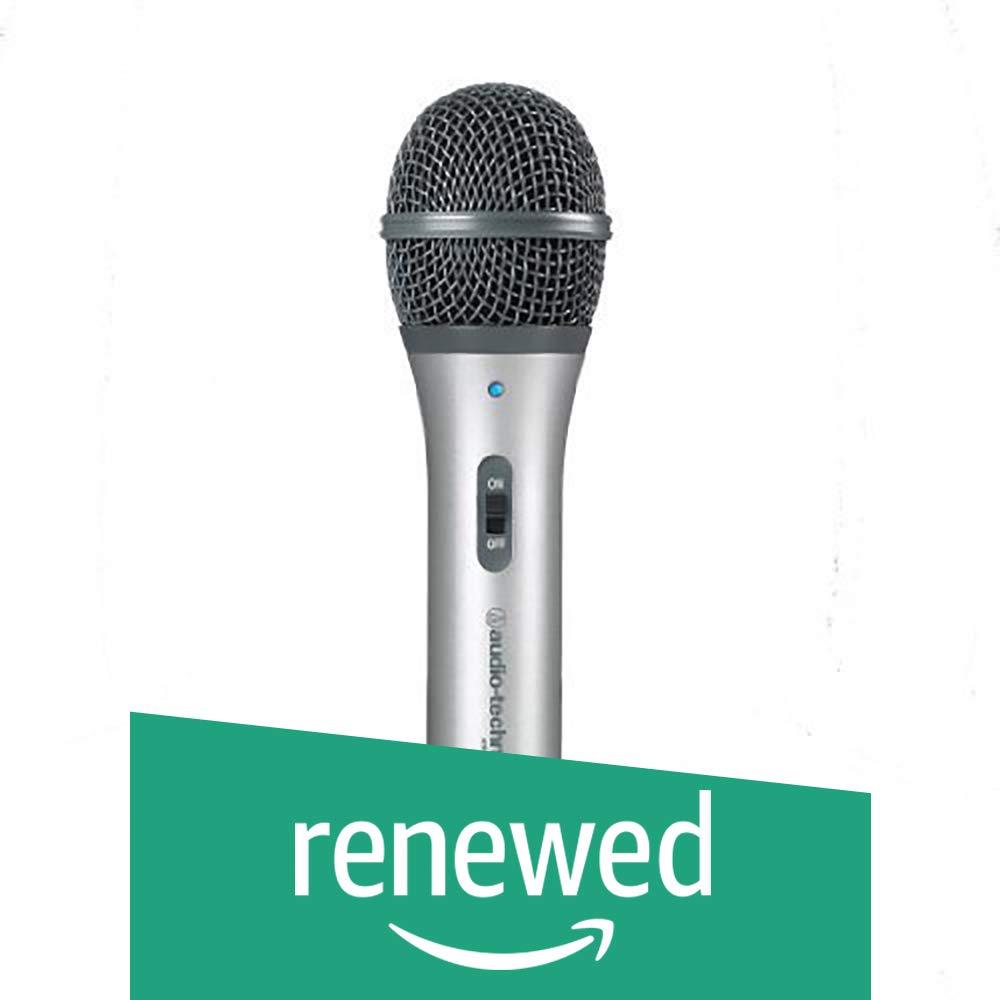 Audio-Technica ATR2100-USB Cardioid Dynamic USB/XLR Microphone (Renewed) by Audio-Technica