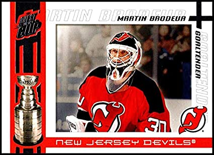 Amazon Com 2003 04 Pacific Quest For The Cup 63 Martin Brodeur New