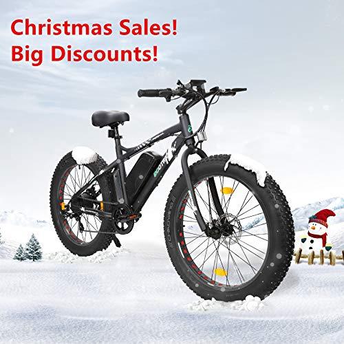 "ECOTRIC 26"" Fat Bike Tire Wheel Men Snow Beach Mountain Elec"