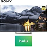 Sony 65-inch 4K HDR Ultra HD Smart LED TV 2017 Model (XBR-65X900E) with Hulu $25 Gift Card