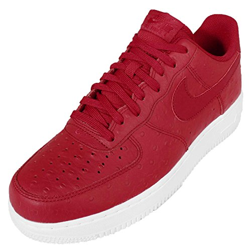 NIKE Mens Air Force 1 07 LV8 Basketball Shoe Gym Red/Gym Red-white z8aS7bt1ME