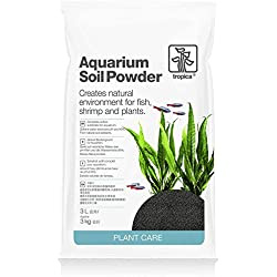 Tropica Plant Care Freshwater Planted Aquarium Soil Powder 3 Liter Bag