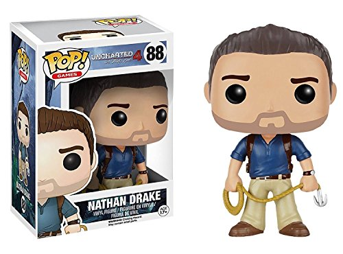 Funko POP Games: Uncharted Action Figure - Nathan Drake by FunKo