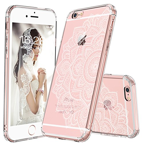 Amazoncom Mosnovo Iphone 6 Caseiphone 6s Clear Case White Floral