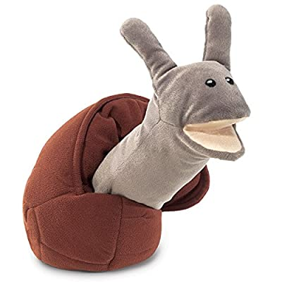 Folkmanis Snail Hand Puppet: Toys & Games