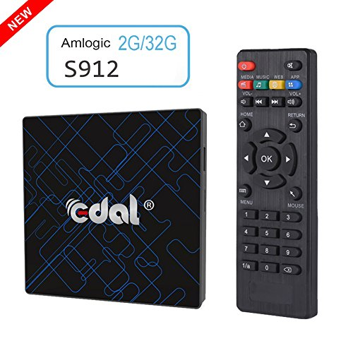 Edal K12 Pro Android 6.0 TV Box Amlogic S912 Octa Core CPU