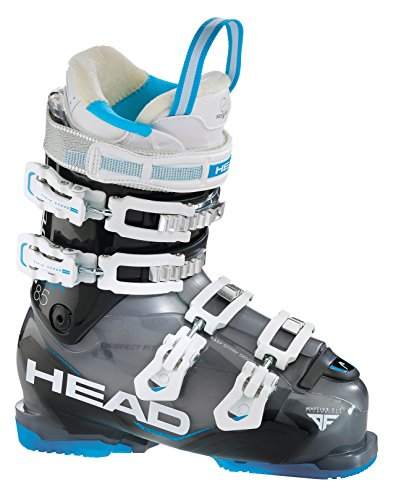 Head Adapt Edge 85 Ski Boot - Womens 2016, Black-Blue, 22.5 Head Adapt Edge