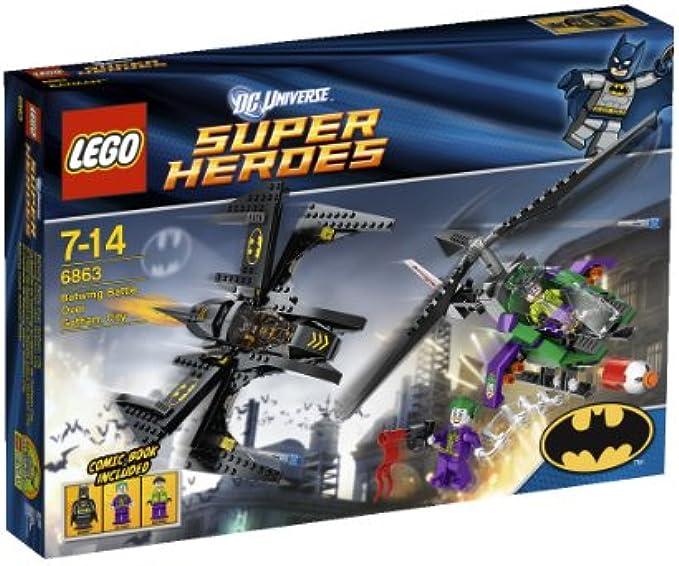 LEGO Super Heroes 6863 קרב באטמן בגות'אם