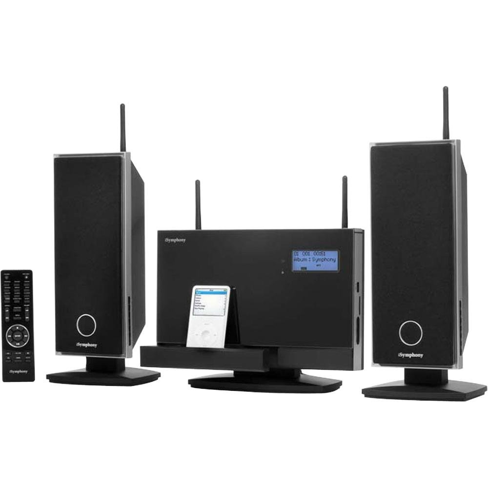 Amazon.com: iSymphony W2C Audio System with Wireless Speakers and ...