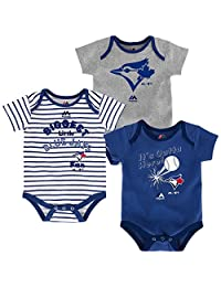 Toronto Blue Jays Newborn Homerun 3-Piece Creeper Set